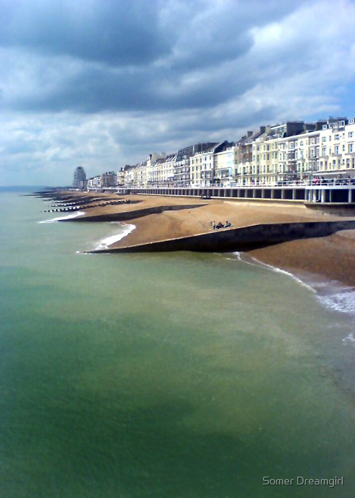 Hastings beach, England by Emma S