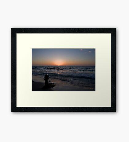 Western Australia the sunset coast 2 Framed Print