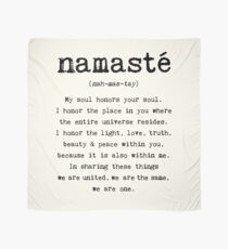 Namaste. Tuch