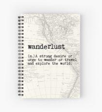 Wanderlust Spiral Notebook