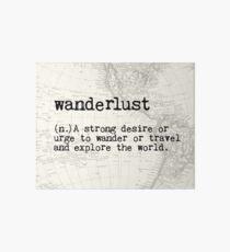 Wanderlust Art Board