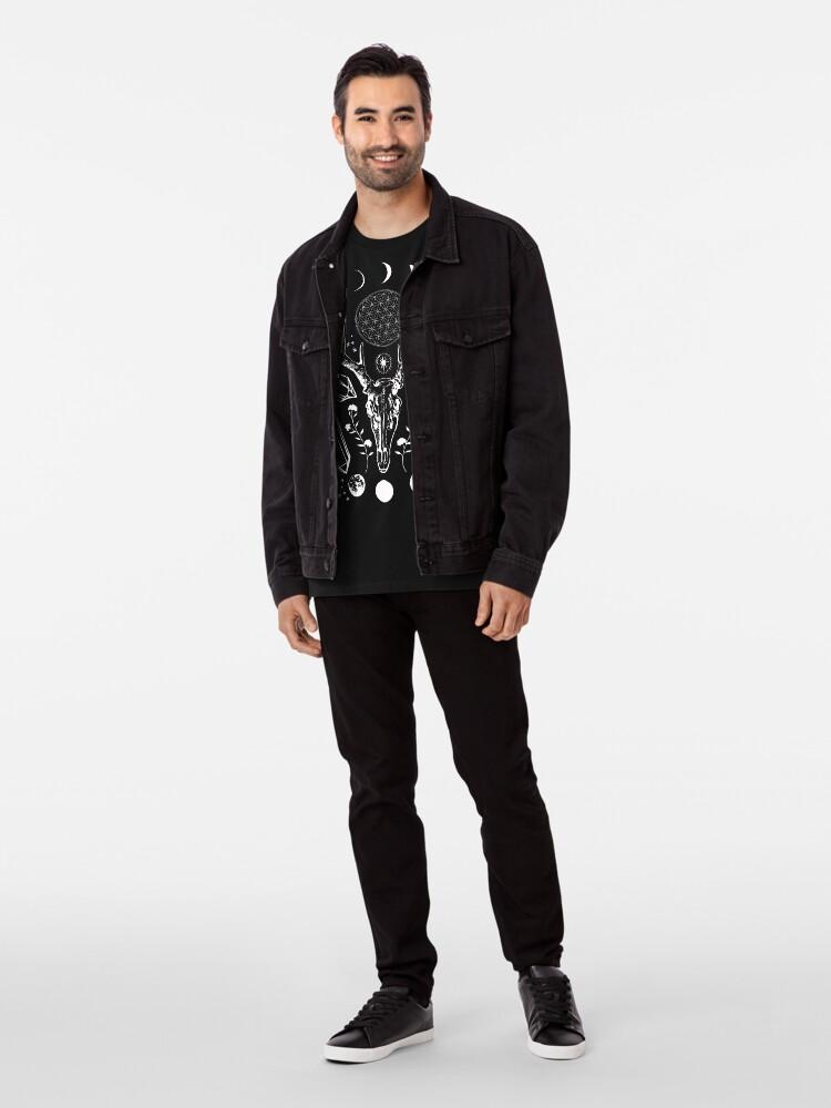 Alternative Ansicht von Kristallmond. Premium T-Shirt