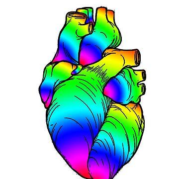 Corazón del arcoiris - ii de AHakir