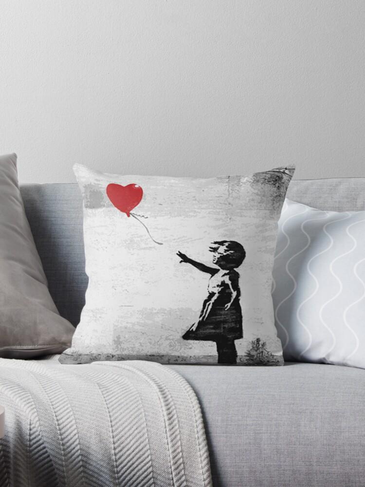 «Banksy - Chica con un globo» de Dwarf Dragon