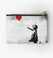 Banksy - Mädchen mit einem Ballon Täschchen