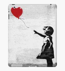 Banksy - Mädchen mit einem Ballon iPad-Hülle & Klebefolie
