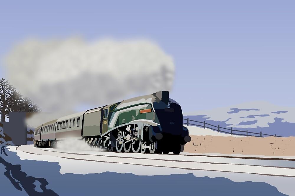 Dashing through the Snow by Rorymacve
