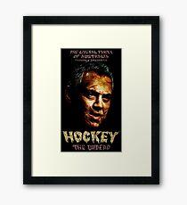 Hockey: The Undead! Framed Print