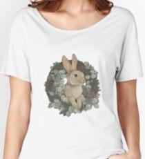 Winter Rabbit Relaxed Fit T-Shirt
