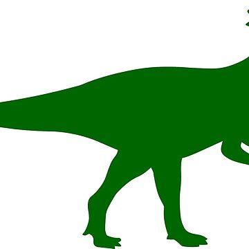 Pachycephalosaurus Dinosaur by sweetsixty