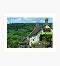 George Inn, Chideock,Dorset UK Art Print