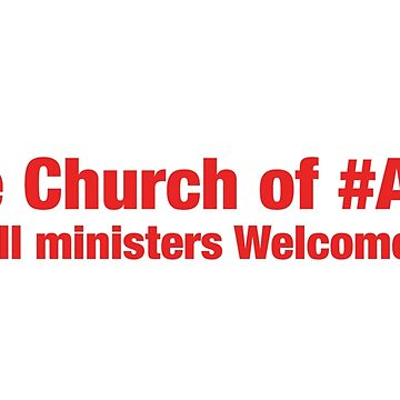 The Church of #ABZ - All Ministers welcome! #VicarGate by majinstevieart