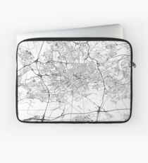 Frankfurt map poster print wall art, Germany gift printable, Home and Nursery, Modern map decor for office, Map Art, Map Gifts Laptop Sleeve