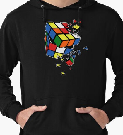 Exploding Cube Lightweight Hoodie