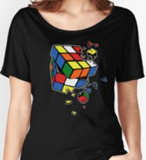 Exploding Cube Women's Relaxed Fit T-Shirt