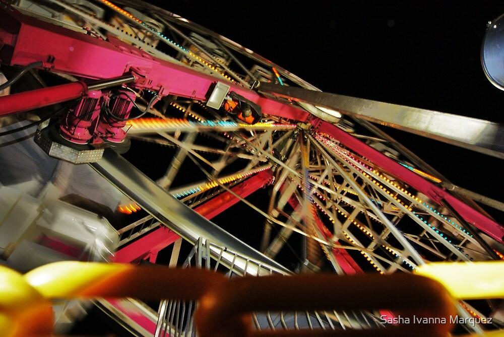 Chained Wheel by Sasha Ivanna Marquez
