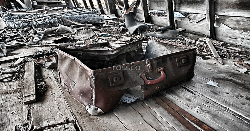 Unpacked Unsettled by rossco