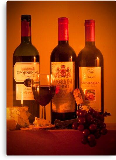 Fruit of the Vine and Stilton Cheese: mmmmmmm by DonDavisUK