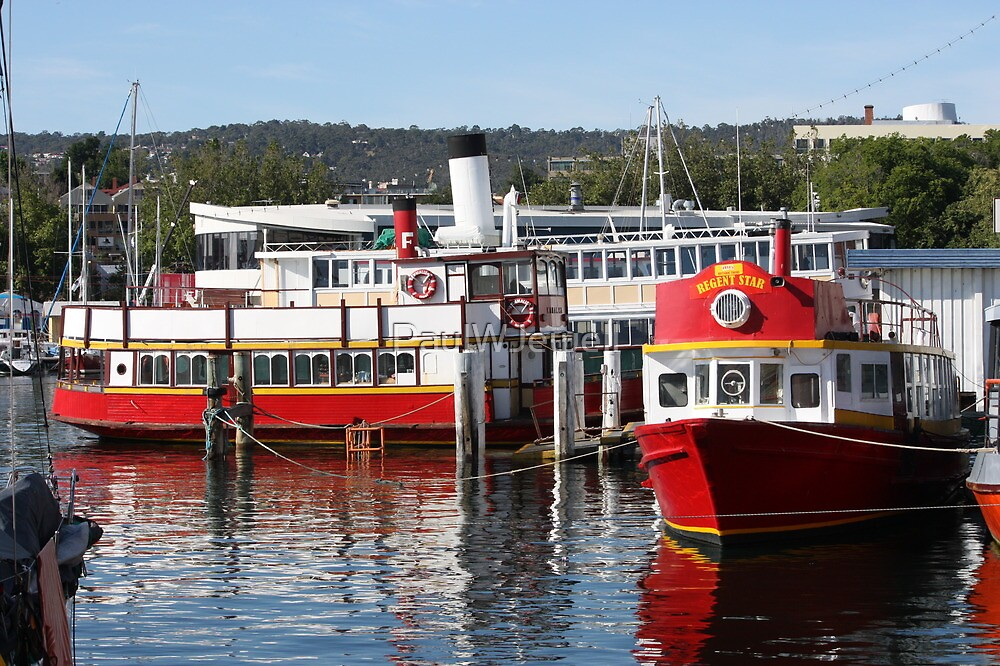 Tasmania Ferry Services by PaulWJewell