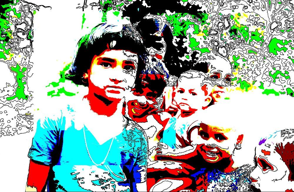 Bangladesh kids 01 by Mick Yates