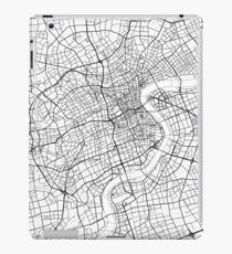 Shanghai map poster print wall art, China gift printable, Home and Nursery, Modern map decor for office, Map Art, Map Gifts iPad Case/Skin