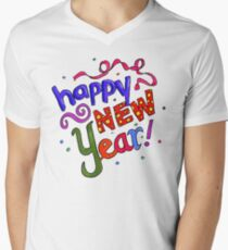 Happy New Years Men's V-Neck T-Shirt