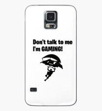 Funda/vinilo para Samsung Galaxy ¡No me hables, estoy jugando!