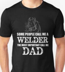 Welder Dad Unisex T-Shirt