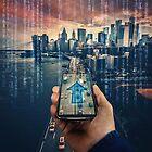 GPS hologram by 1STunningART