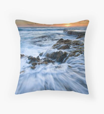 Sucked In Throw Pillow
