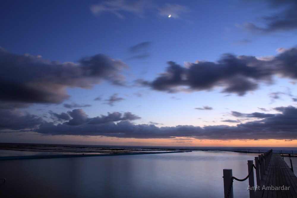 Narrabeen Lagoon, NSW by Amit Ambardar