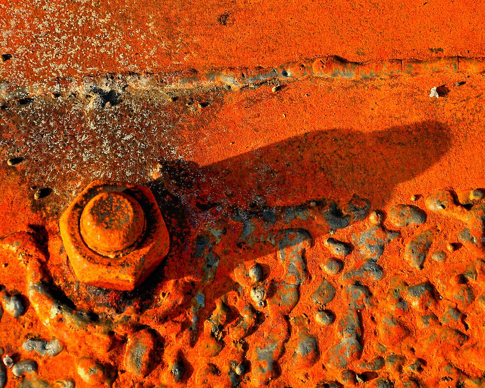 Rusty Weld by JRCollection