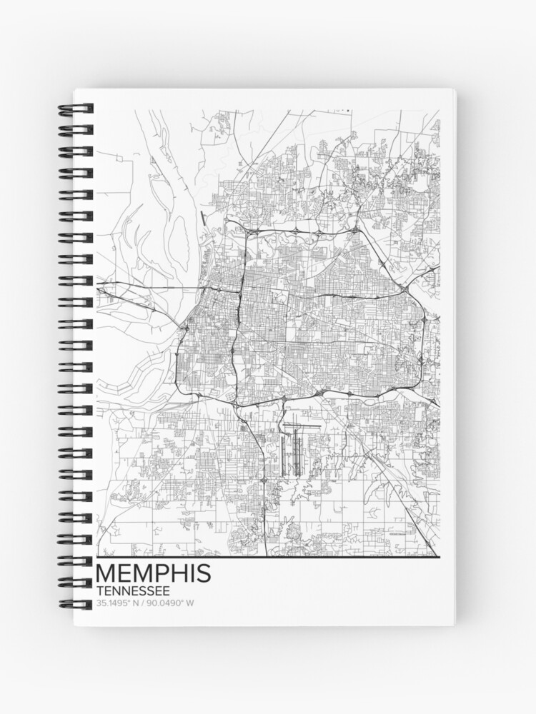 graphic relating to Printable Map of Tennessee identify Memphis map poster print wall artwork, Tennessee present printable, Property and Nursery, Ground breaking map decor for workplace, Map Artwork, Map Presents Spiral Laptop