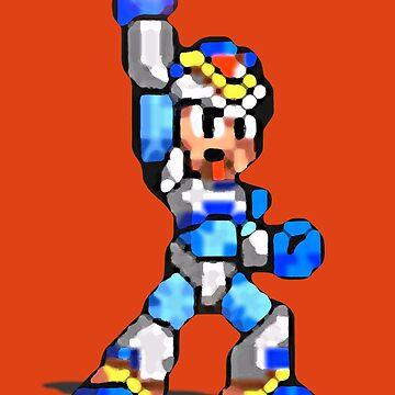 Mega Man X - Victory! by Justin-Case001