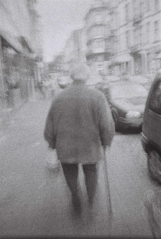 Old man back by Floly