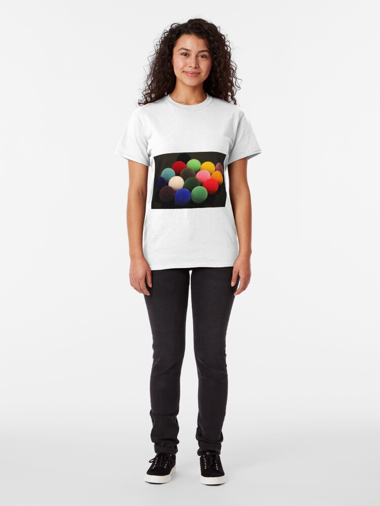 Alternate view of Christmas Snooker Classic T-Shirt