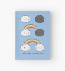 Smiles are contagious Hardcover Journal