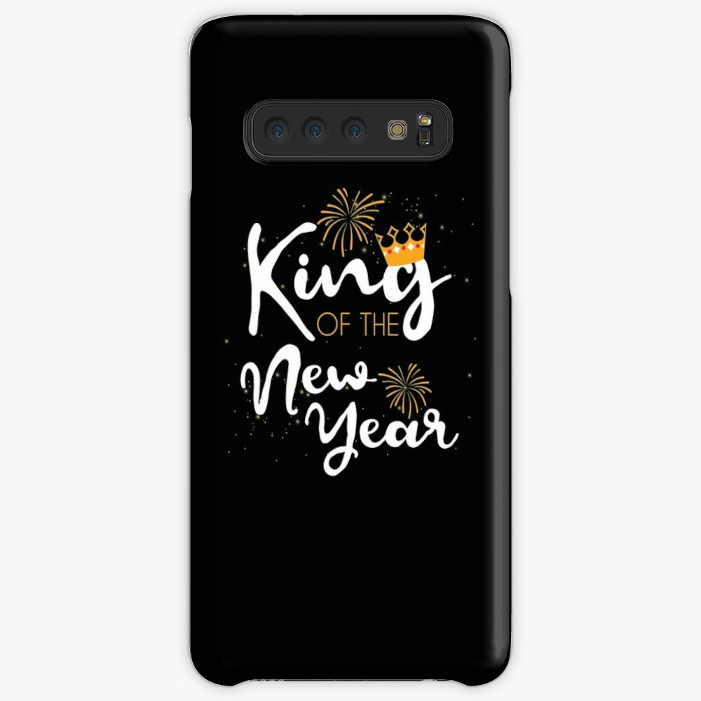King of the New Year Tee Happy New Year New Years Eve TShirt Case & Skin for Samsung Galaxy
