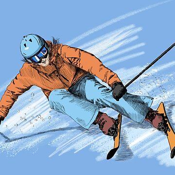 skier by sibosssr