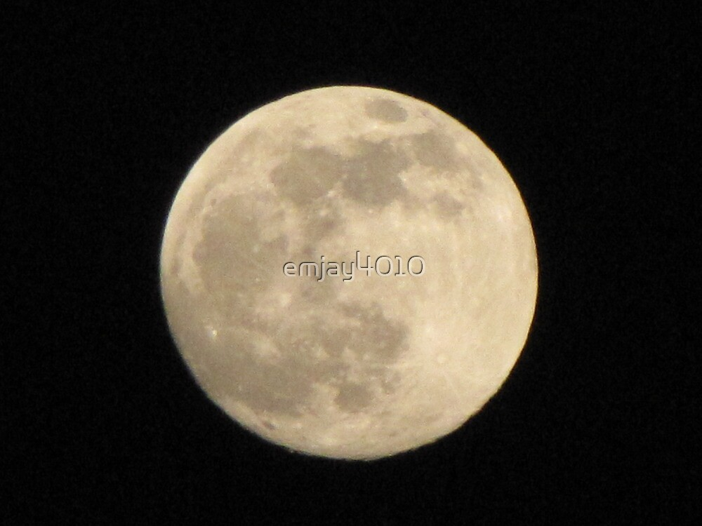 Blue Moon over Texas by emjay4010