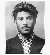 Junger Stalin Poster