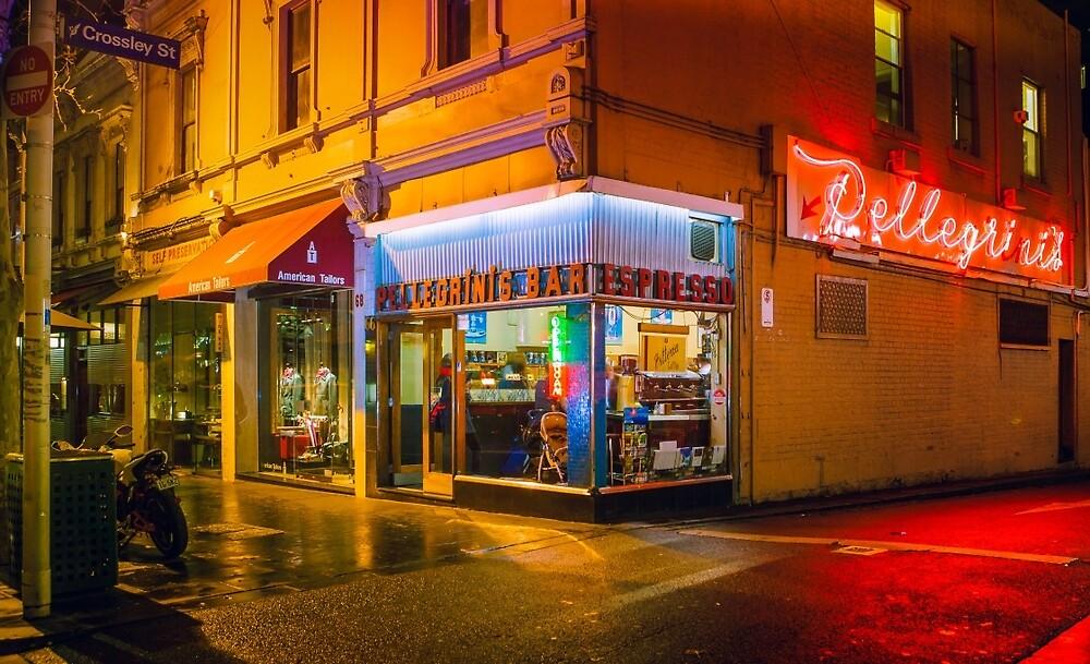 Pellegrinis Espresso Bar by melbournedesign