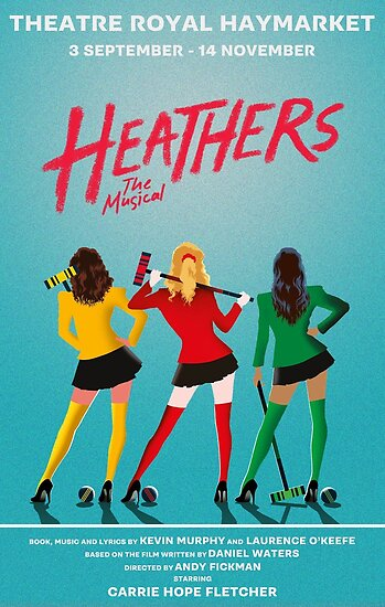 Quot Heathers The Musical West End Quot Poster By