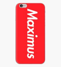 Hello My Name Is Maximus Name Tag iPhone Case