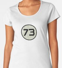 Sheldon's 73 Der Urknall Frauen Premium T-Shirts