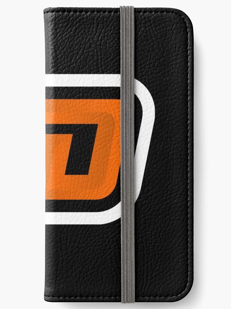 D Esports Mascot Letter Logo Iphone Wallet By Romyartsgfx