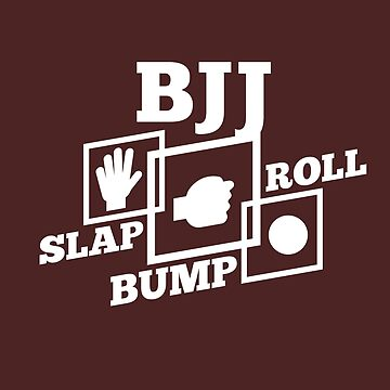 BJJ Shirt Slap Bump Roll Brazilian Jiu Jitsu Shirt Gift by artbyanave