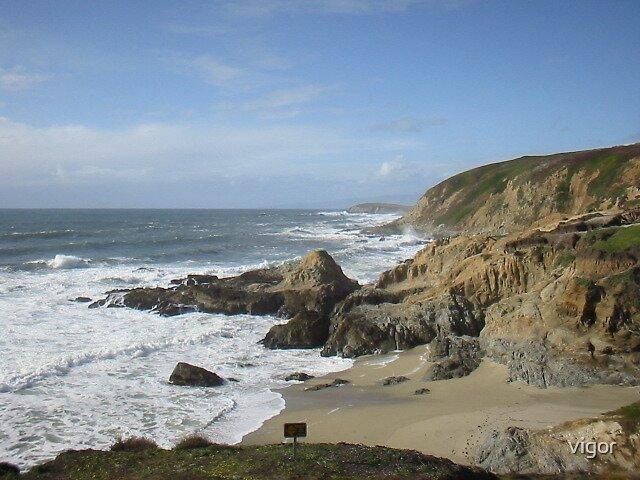 California Coastline by vigor