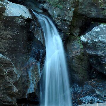 Bingham Falls, Stowe Vermont by srwdesign