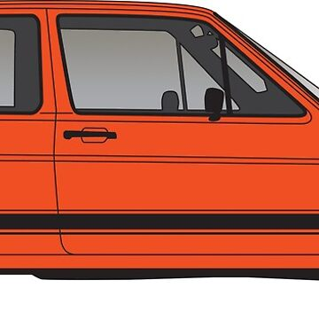 Golf MK2 GTi - Launch Spec by fozzilized